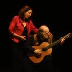 duo Nicole Uzan guitar voix chant lYrique Juliette Piedevache mise en scène théâtre musical Yiddish