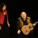 Nicole Uzan chanteuse Lyrique juliette Piedevache metteuse en scène théâtre musical Yiddish duo d'acteurs